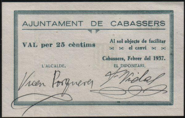 ERC governa a Cabassers després de 80 anys