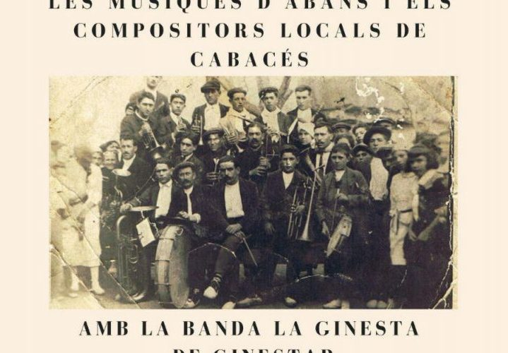 Música de compositors cabasserols al Sitjar