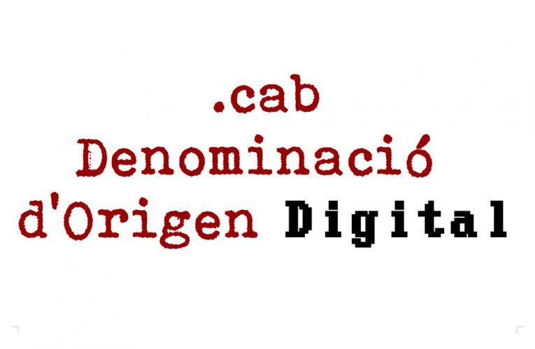 Els dominis punt cab: una Denominació d'Origen Digital