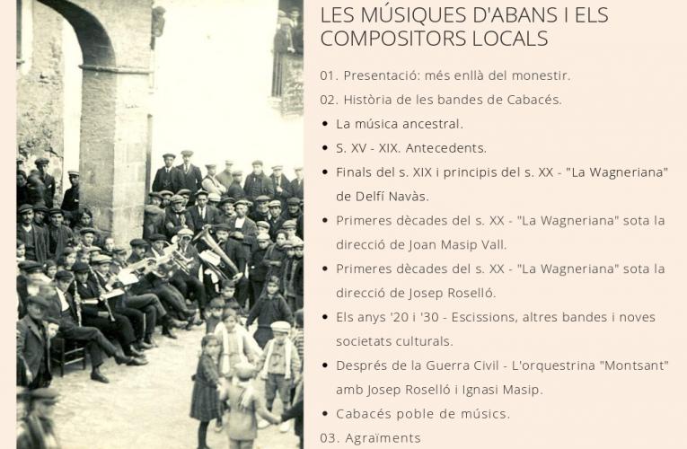 Santa Maria de Vallclara publica el llibret del concert de diumenge
