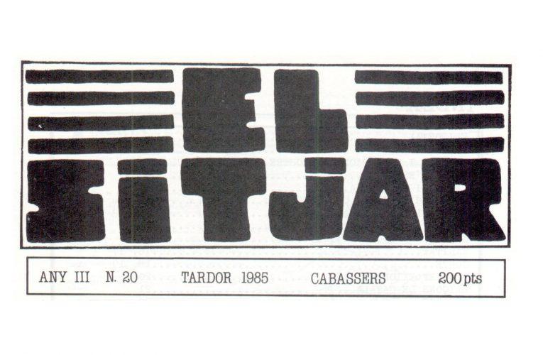 El Sitjar, disponible a l'hemeroteca de nord.cab