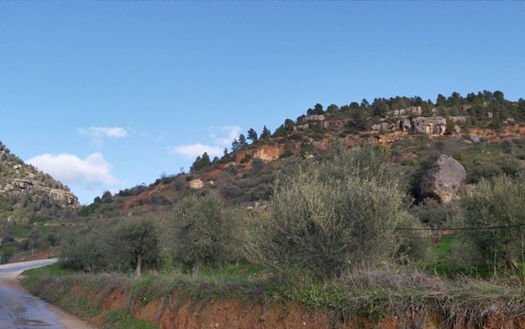 Esllavissada a la muntanya del Calvari