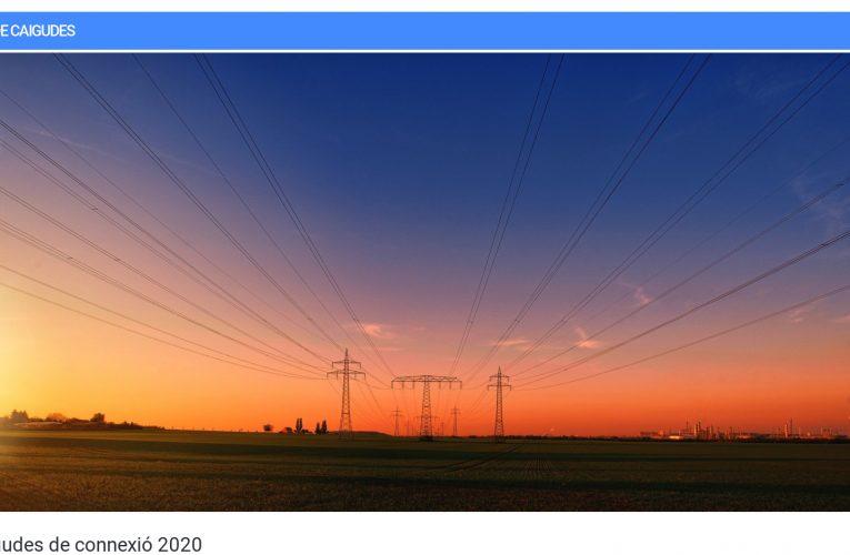 El subministrament elèctric i les telecomunicacions van registrar nou incidències durant el temporal