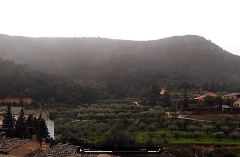 Vídeo: així arrossega la pluja la llevantada