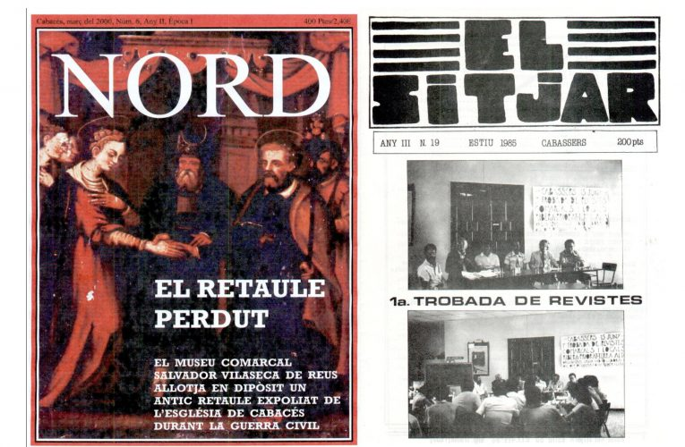 L'hemeroteca de nord.cab us permet llegir la revista en paper i El Sitjar