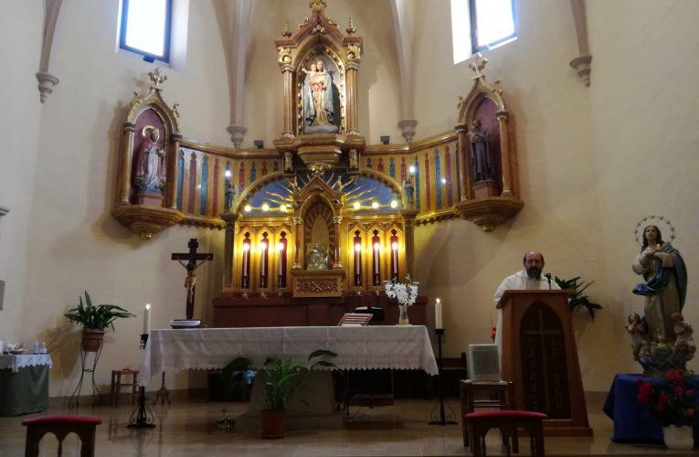 Se celebra la primera missa dominical des de la declaració de l'estat d'alarma