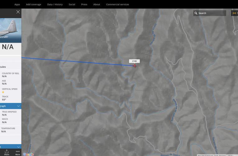Cinquè vol militar que sobrevola el terme de Cabassers des de l'1 d'abril