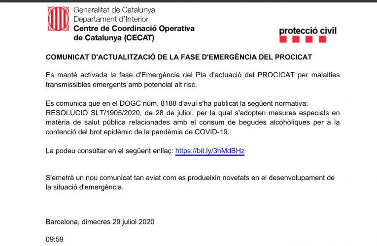 Engatar-se al carrer se sancionarà amb una multa d'entre 3.001 i 15.000 €