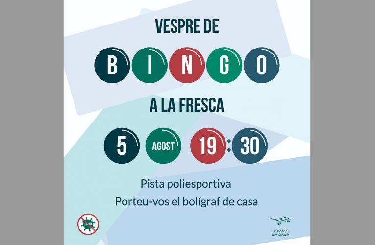 Demà, bingo a la pista poliesportiva