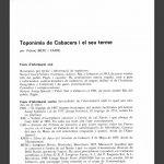 """La """"Toponímia de Cabacers i el seu terme"""", de Vicenç Biete"""